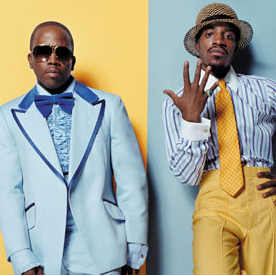 Outkast Big Boi and Andre 007